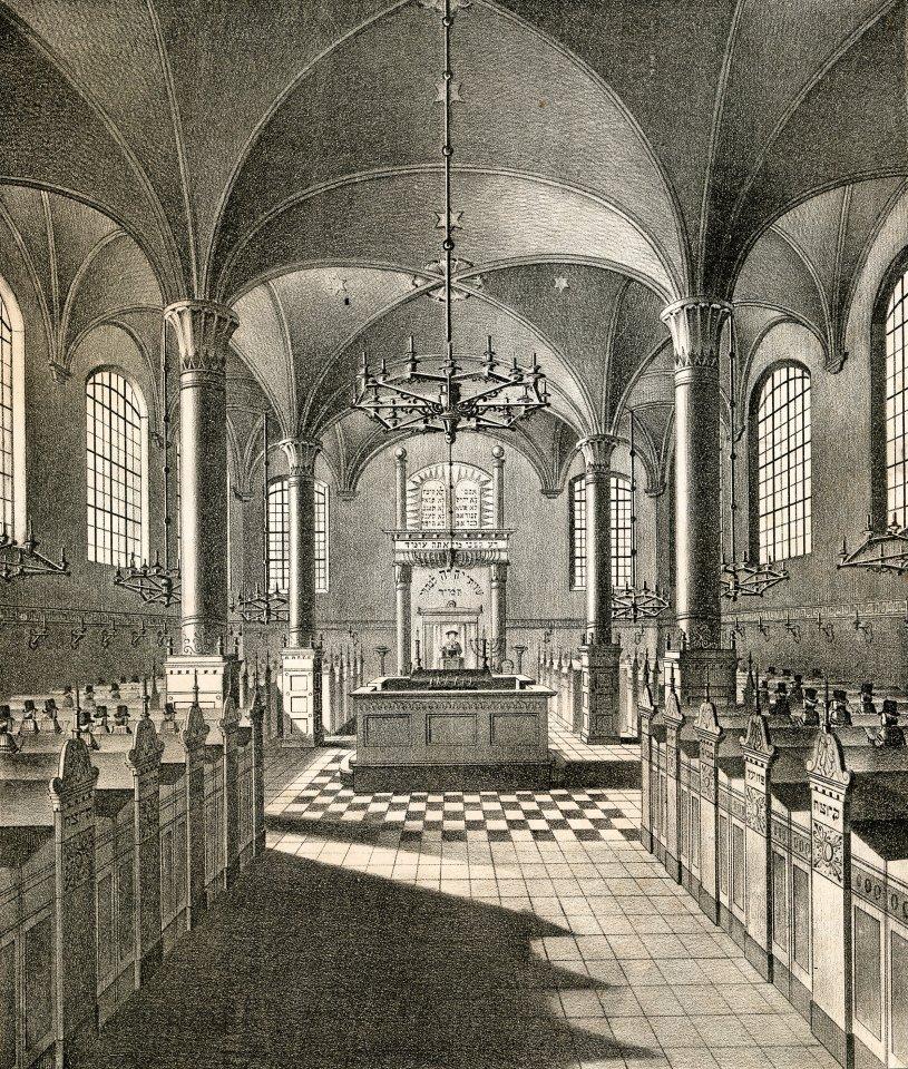 Deutsch-israelische Synagoge zu Altona.