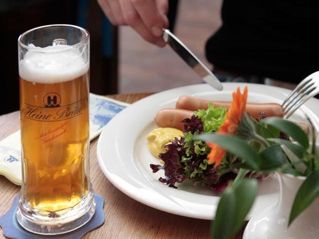 Regionale Harzer Küche und selbstgebrautes Bier: Das bietet die Villa Heine.