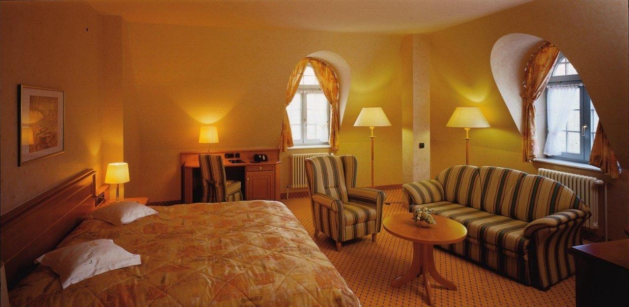 Mit ihren 61 modern und komfortabel eingerichteten Zimmern und Suiten bietet das Wellness-Hotel ausreichend Platz.