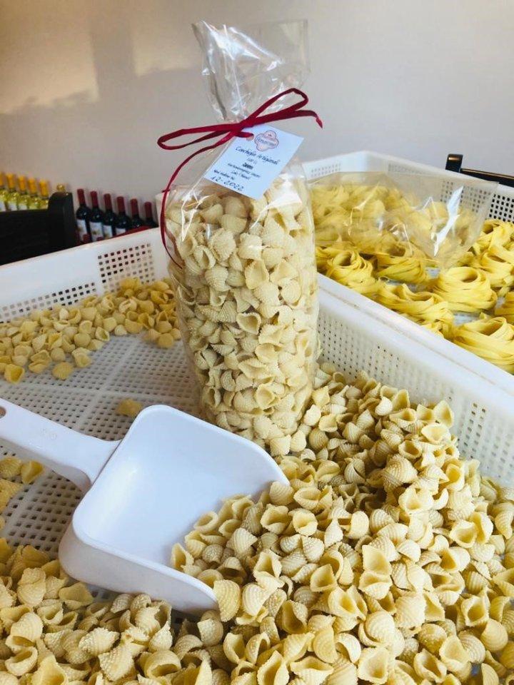 Neue Nudelsorten: Conchiglie Artigianali