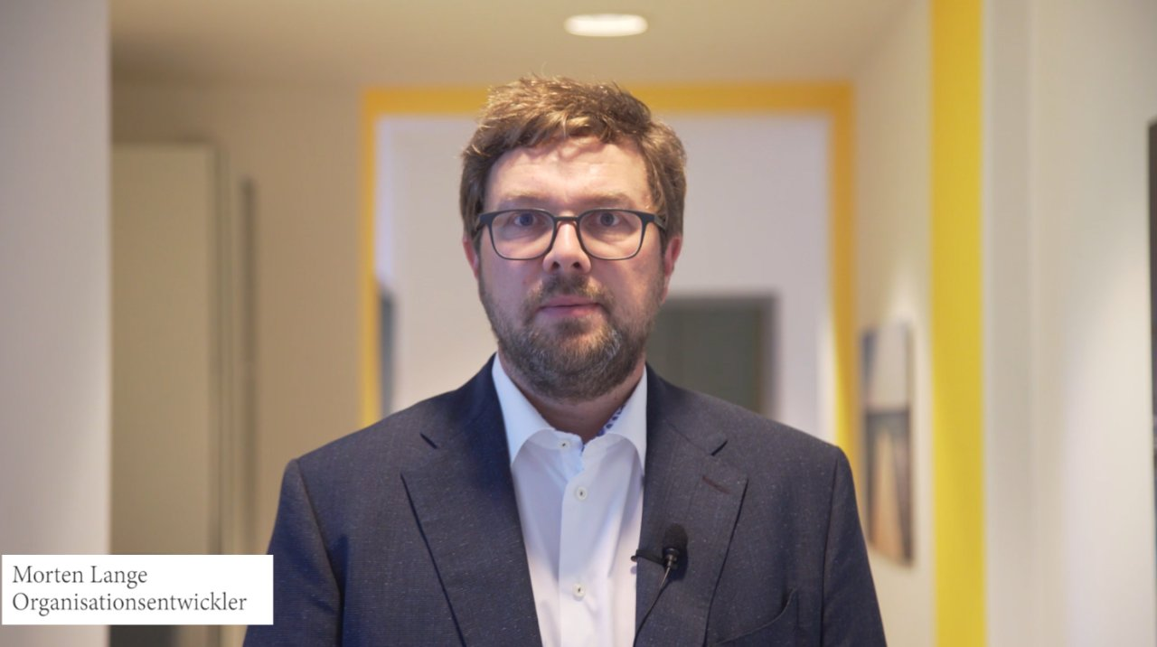 Morten Lange, Organisationentwickler