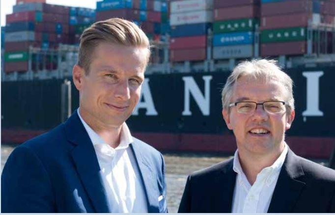 Die geschäftsführenden Gesellschafter von West-Elbe: Christoph Linder und Jörg Wilken.