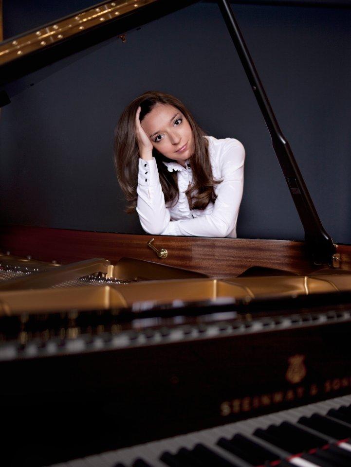 Weltklasse: die russische Pianistin Yulianna Avdeeva