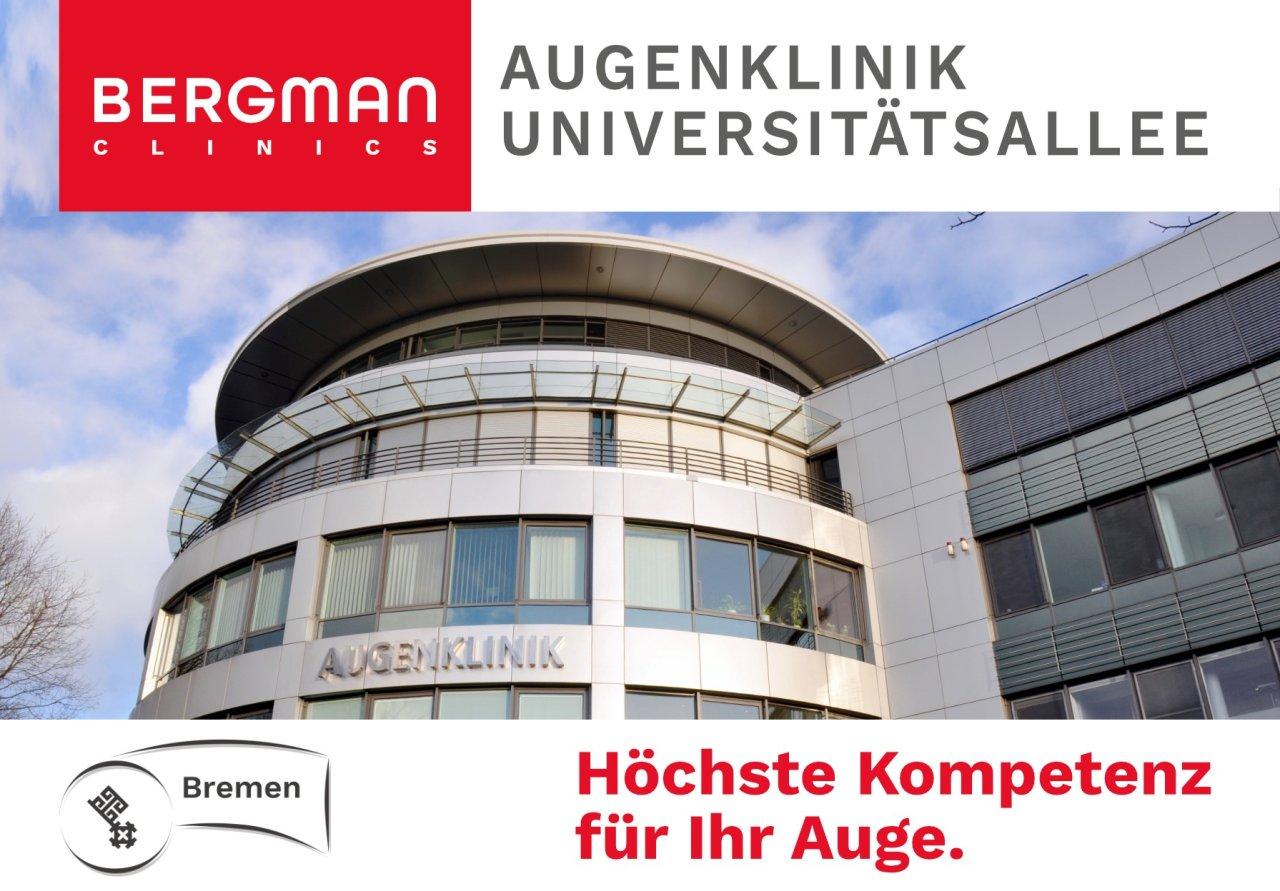 Bergman Clinics Augenklinik Universitätsallee