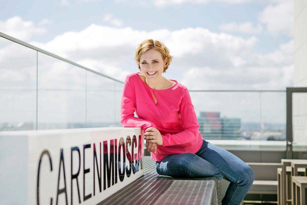 was caren miosga in ihrer neuen talkshow plant tv medien kultur live hamburger abendblatt - Caren Miosga Lebenslauf