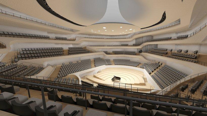 Gro 223 Er Saal Der Elbphilharmonie Wird An Die Stadt
