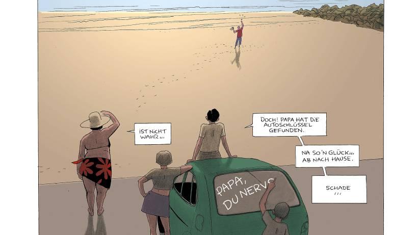 kultur live article franzosen zeichnen sittengemaelde strand