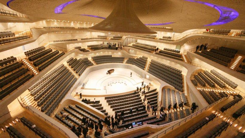 Mietpreise: Ein Abend Elbphilharmonie: Was Hamburgs Konzerthallen kosten