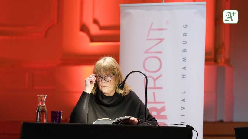 Carmen Korn in Hamburg  Puschen-Prosa mit...