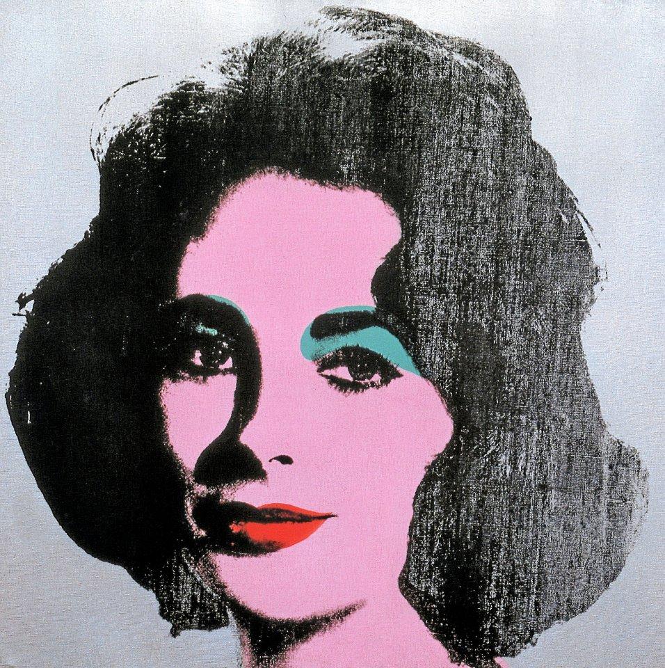 "Andy Warhols ""Silver Liz"", 1963"