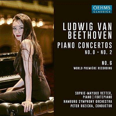 Die Beethoven-Klavierkonzerte Nr. 0, Nr. 2 und Nr. 6 von den Symphonikern Hamburg.