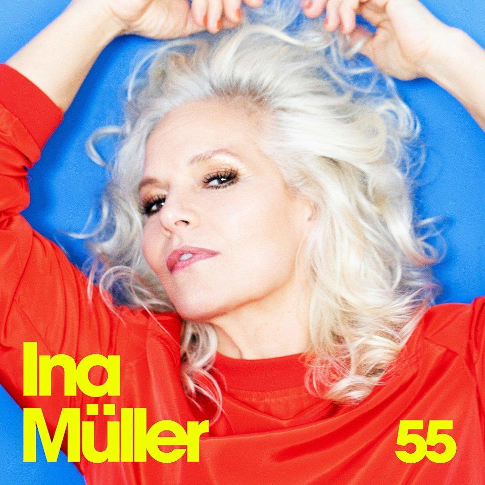 "Ina Müller:""55"" Album (Columbia/Sony), ab 20.11. im Handel."