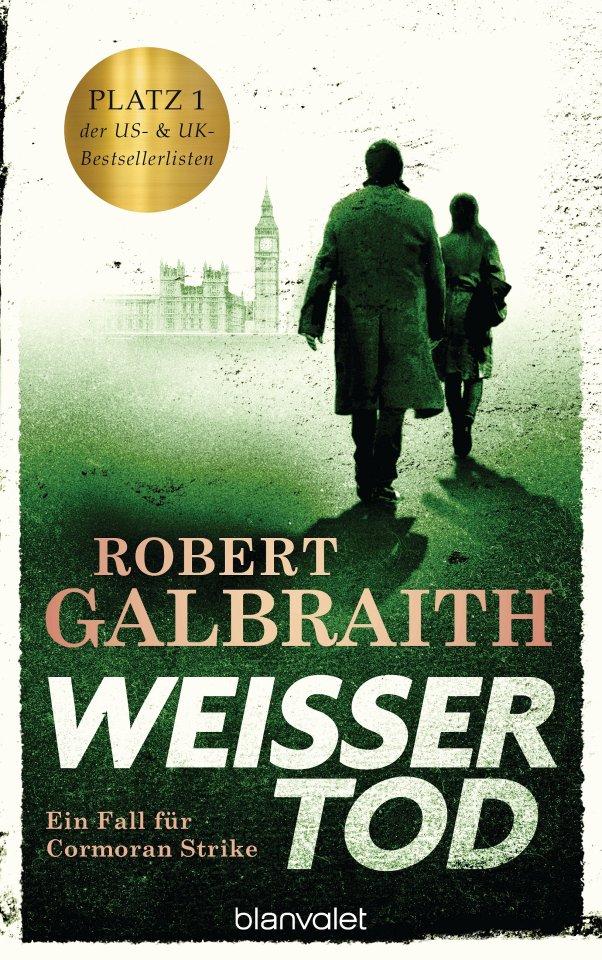 """Robert Galbraith: """"Weißer Tod"""", Deutsch von Wulf Bergner, Christoph Göhler und Kristof Kurz. Blanvalet, 862 Seiten, 24 Euro"""