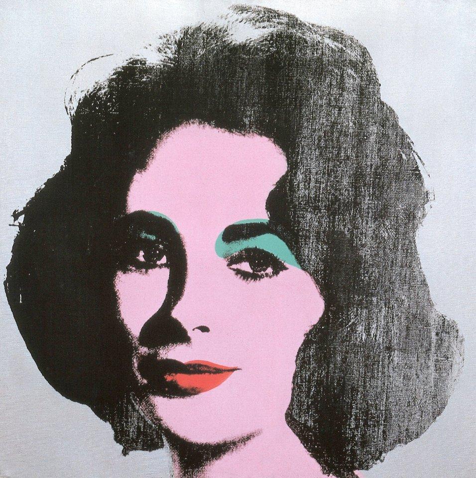"""Auch Andy Warhols """"Silver Liz"""" von 1963 wird zu sehen sein."""