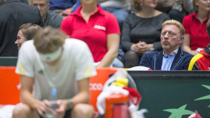 Tennis: Becker spricht durch Alexander Zverev über Zusammenarbeit