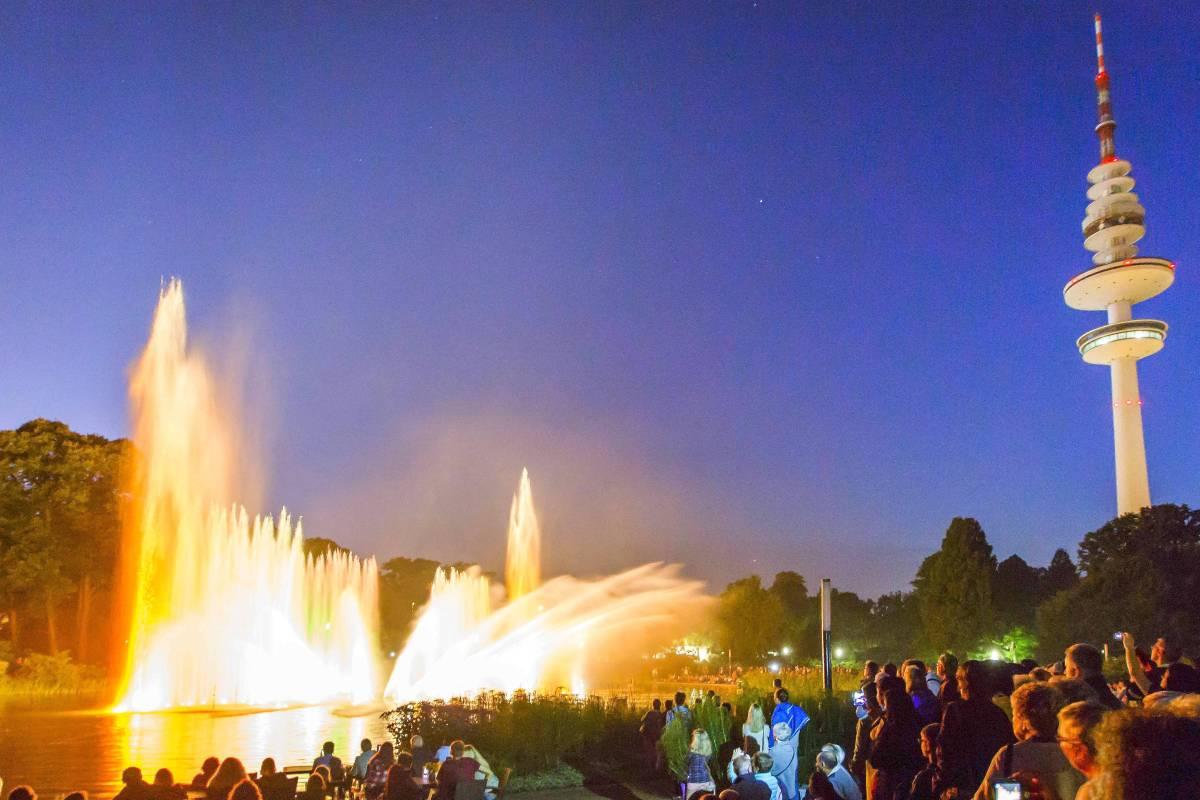 Wasserlichtorgel Soll Für Drei Millionen Euro Saniert Werden