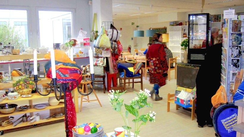 Pilotprojekt sozialkaufhaus mit caf ambiente von for Sozialkaufhaus hamburg