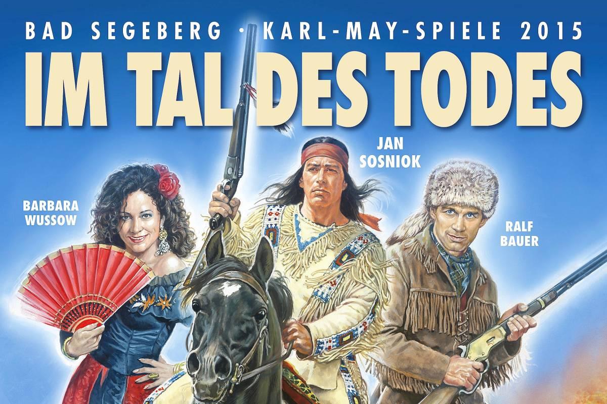 20000 Plakate Für Karl May Spiele In Bad Segeberg Norderstedt