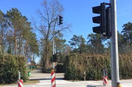 Norderstedt: Ampel schon wieder durch Unfall demoliert