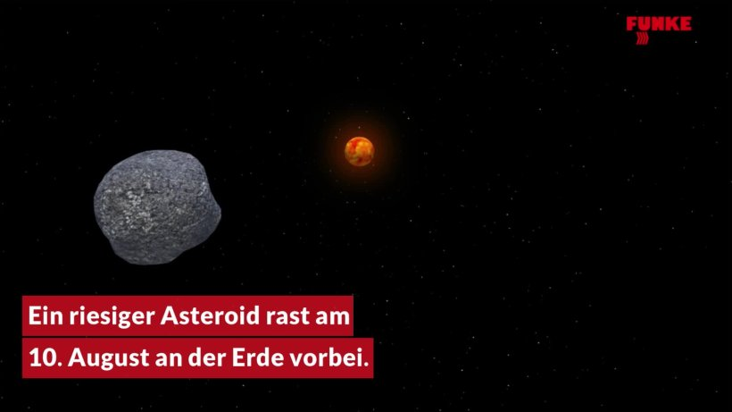 Asteroid 10 August