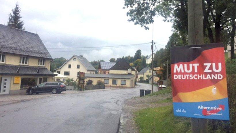 Dorfchemnitz: Die Gemeinde, in der fast jeder Zweite die AfD wählte