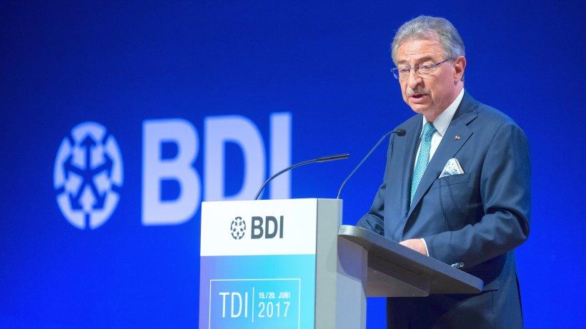 BDI: Was die deutsche Industrie von Jamaika-Koalition fordert