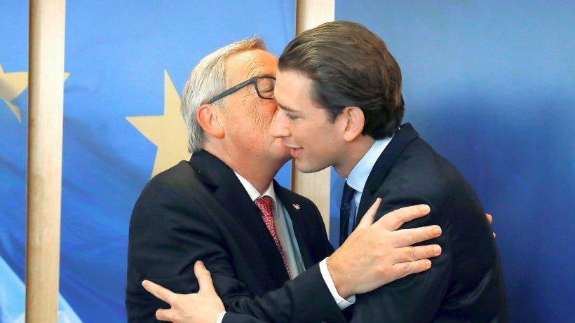 Regierungschefs: Nur vor dem EU-Gipfel symbolisieren Teilnehmer Harmonie