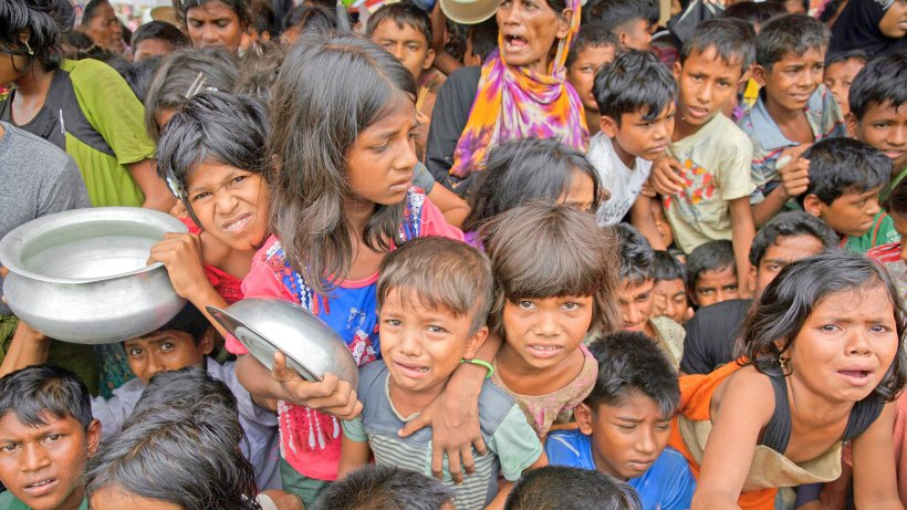 """Flüchtlinge: Rohingya leiden in Bangladesch: """"Es geht ums Überleben"""""""