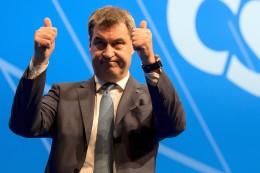 Christsoziale: CSU-Parteitag kürt Markus Söder zu Seehofers Nachfolger