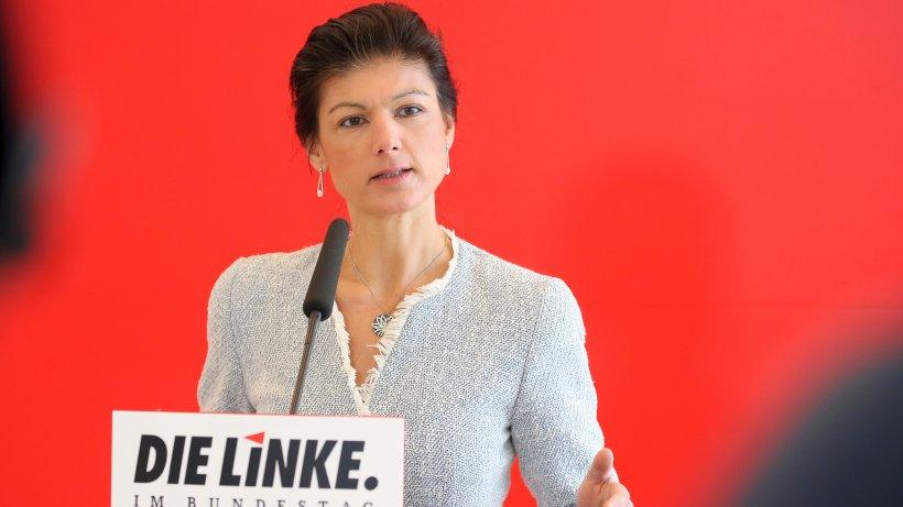 """Sahra Wagenknecht wirft Merkel """"Beihilfe zum Angriffskrieg"""" vor"""
