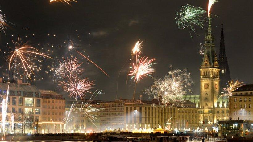 Hamburg Feuerwerk
