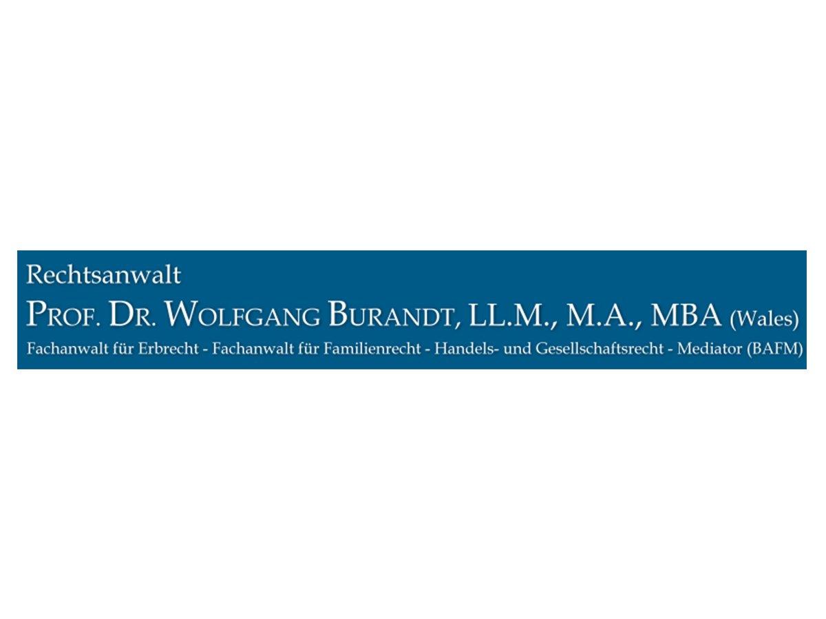 Prof. Dr. Wolfgang Burandt berät Unternehmerfamilien bei der Nachfolgeregelung