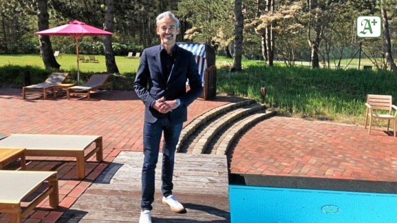 Als Hoteldirektor aus Hamburg zurück in die Heimat