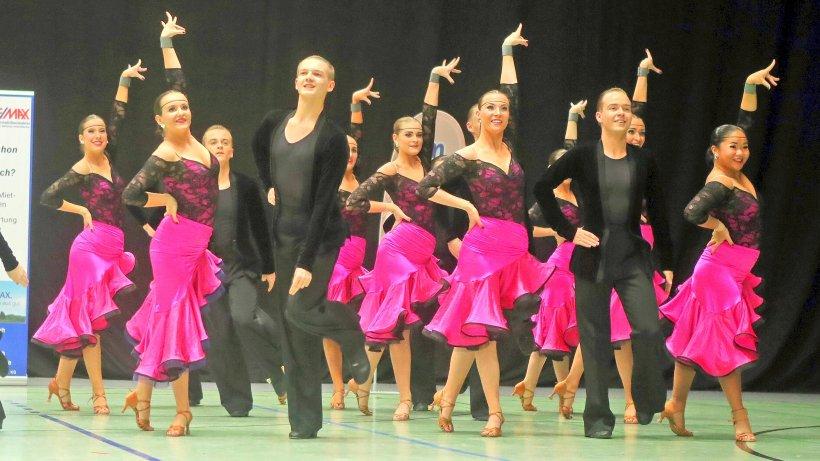 Noch nicht die Jüngsten im Reigen der Buchholzer Formationen: Das D-Team hat ein Durchschnittsalter von 15 bis 16 Jahren und tanzt in der Landesliga