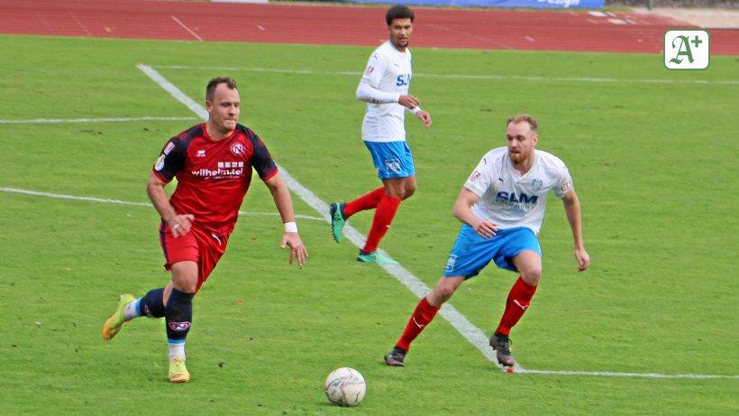 Eintracht muss sich mit 1:1 bei Phönix Lübeck begnügen