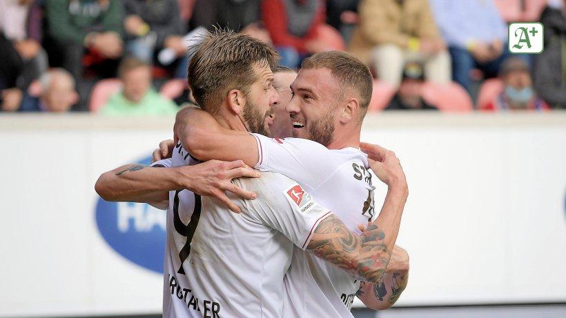 FC St Pauli: Burgstaller und Dittgen glänzen als Doppelpacker