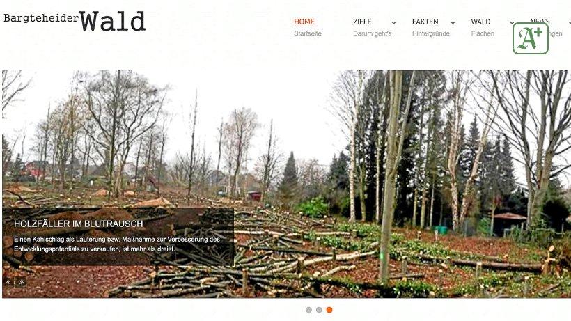 Bargteheide: Anonyme Waldretter sorgen für Aufruhr