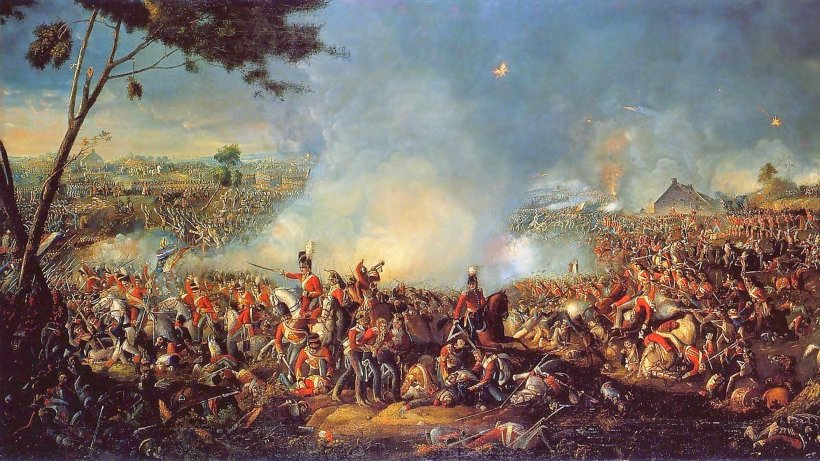 Famous Paintings Of Waterloo