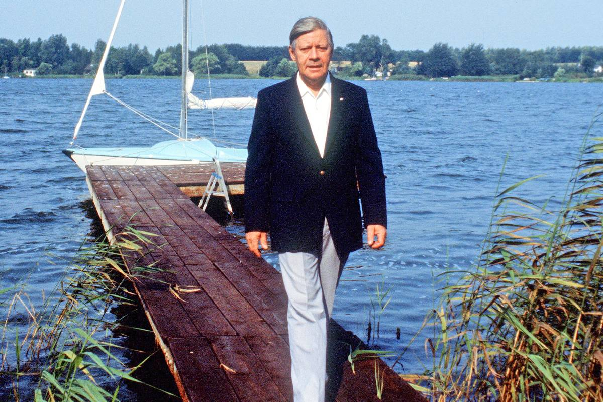 Helmut Schmidt Brahmsee