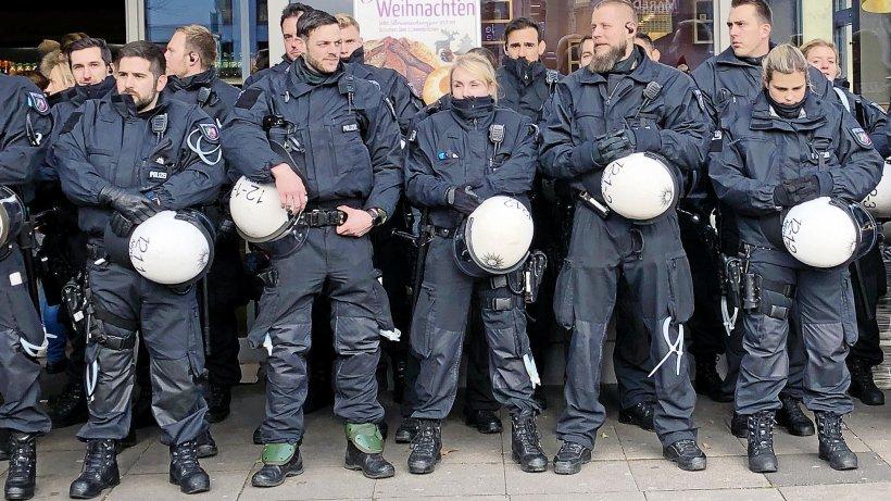 Polizei Gewalttätig Deutschland