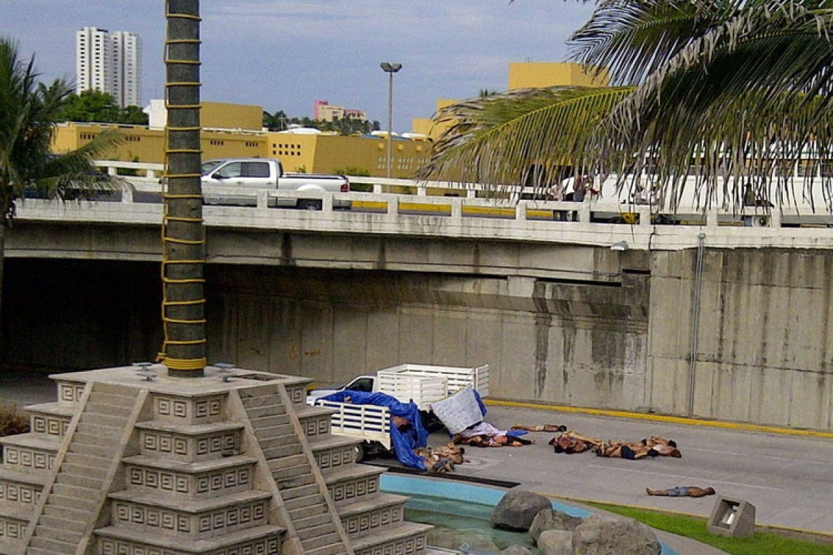 Mexiko Kartell Brücke.Mexiko 35 Leichen Unter Brücke In Veracruz Entdeckt Aus Aller