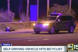 Technologie: Frau stirbt nach Unfall mit selbstfahrendem Auto von Uber