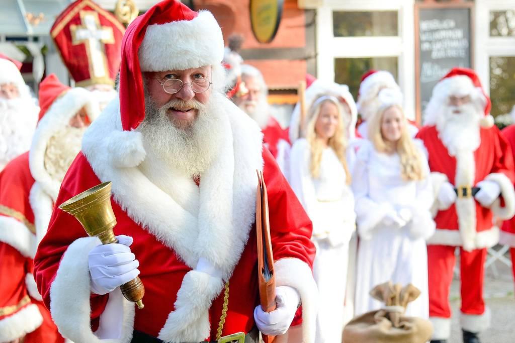 Weihnachtsmann Whatsapp Profilbild