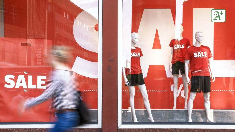 Bis zu 70 Prozent Rabatt auf Kleidung in Hamburg ...