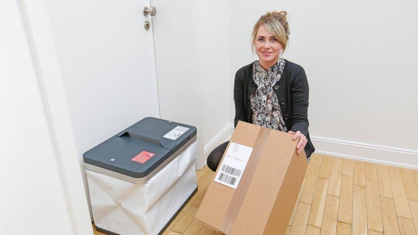 die sichere paketbox f r die wohnungst r aktuelle. Black Bedroom Furniture Sets. Home Design Ideas
