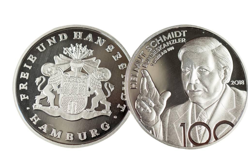 Helmut Schmidt Aus Silber Lohnt Sich Das Wirtschaft Hamburger