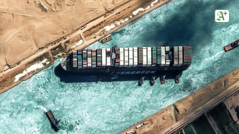 Suezkanal-Blockade kostet Reederei Hapag-Lloyd Millionen