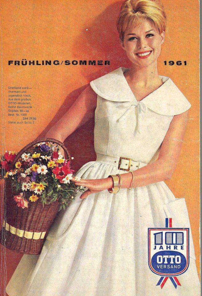 So sah der Otto-Katalog im Frühjahr 1961 aus
