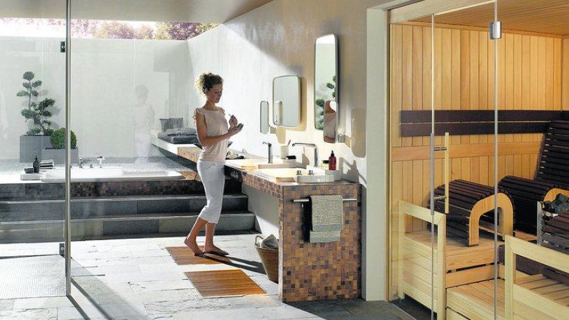 zu hause stilvoll schwitzen hinter glas wohnen hamburger abendblatt. Black Bedroom Furniture Sets. Home Design Ideas