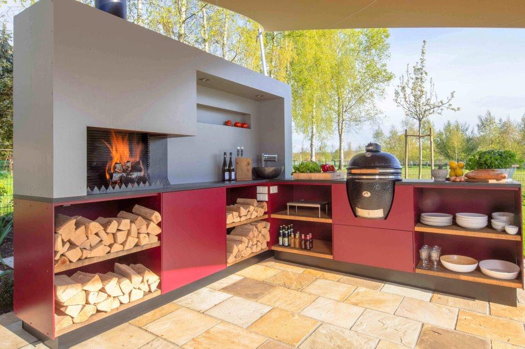 Outdoorküche Mit Kühlschrank Reinigen : Outdoorküche u draußen grillen und kochen mit komfort wohnen